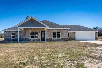 Gilmer Single Family Home Active, Option Period: 140 Private Road 1150