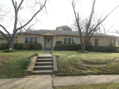 Longview Single Family Home For Sale: 804 N Sixth