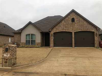 Hallsville Single Family Home For Sale: 109 Ballpark Dr