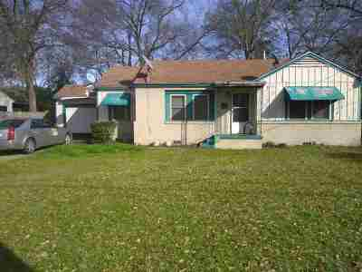 Longview TX Single Family Home For Sale: $88,000
