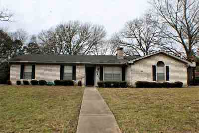 Longview Single Family Home For Sale: 2813 Eugenia Dr.