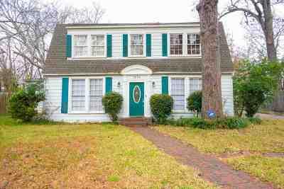 Kilgore Single Family Home For Sale: 1225 Oak