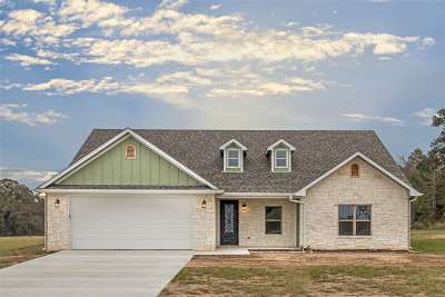 Gilmer Single Family Home Active, Option Period: 110 Private Road 1150