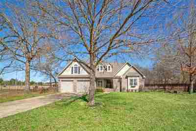 Hallsville Single Family Home Active, Cont Upon Loan Ap: 1188 Old Hwy 80