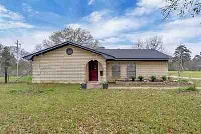 Kilgore Single Family Home Active, Option Period: 4554 S Fm 2087