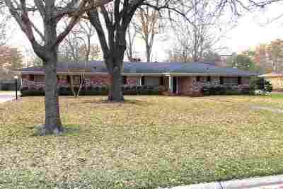 Kilgore Single Family Home For Sale: 2405 Wychelm Dr.