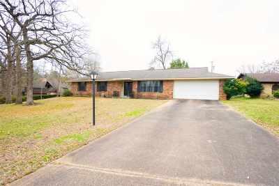 Kilgore Single Family Home For Sale: 3002 Crestwood
