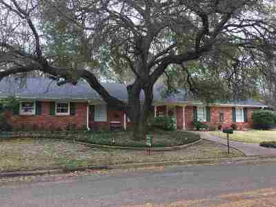 Gilmer Single Family Home For Sale: 1329 Frost St