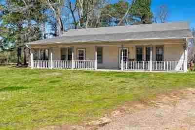 Kilgore Single Family Home For Sale: 3706 Fm 1252 W
