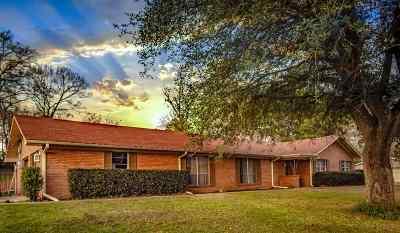 Longview Single Family Home For Sale: 1221 Eden Dr.