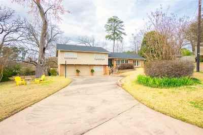 Longview Single Family Home For Sale: 2012 Sunshine Square