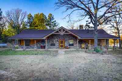 Gilmer Single Family Home Active, Option Period: 3249 Kingfisher Rd