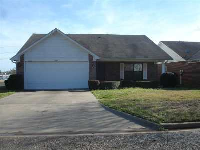 Longview Single Family Home Active, Option Period: 1230 Cleardale Dr.