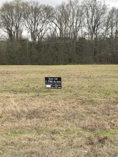 Gilmer Residential Lots & Land For Sale: Lot 14 Jacobin Creek Dr