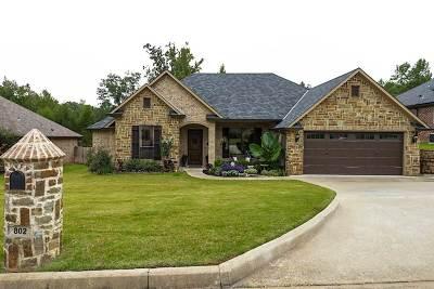 Longview Single Family Home For Sale: 802 Crepe Myrtle Ln.