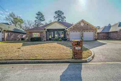 Longview TX Single Family Home For Sale: $286,500