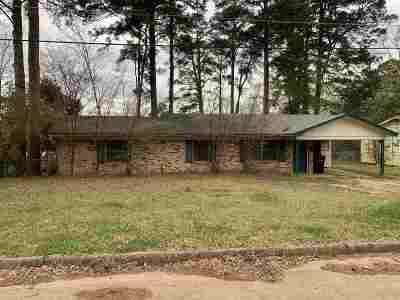 Longview TX Single Family Home For Sale: $69,900