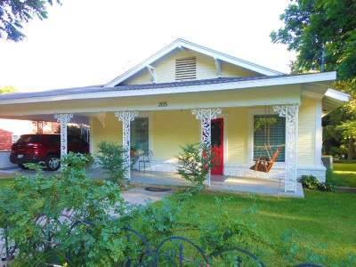 Big Sandy Single Family Home For Sale: 205 W Gilmer St.
