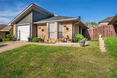 Longview Single Family Home For Sale: 2733 Patio St