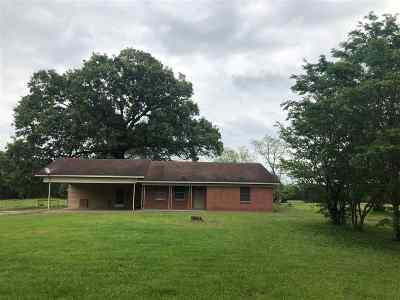 Tenaha TX Single Family Home For Sale: $75,000
