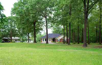 Kilgore Single Family Home Active, Option Period: 3278 Mt Pisgah Rd