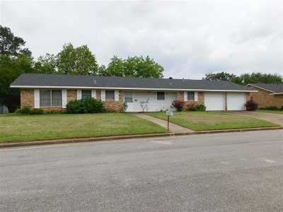 Gilmer Single Family Home Active, Cont Upon Loan Ap: 1605 Woodway