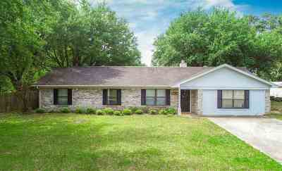 Kilgore Single Family Home Active, Option Period: 165 Fawn Creek