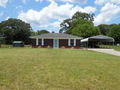 Diana Single Family Home Active, Option Period: 5519 N Fm 726