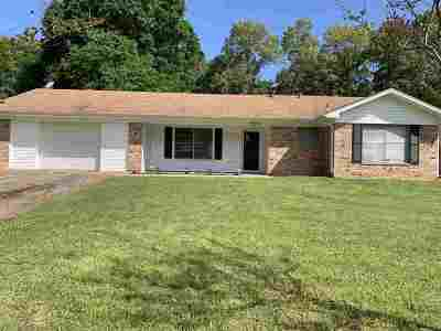 Marshall Single Family Home For Sale: 2705 Cedarcrest Dr