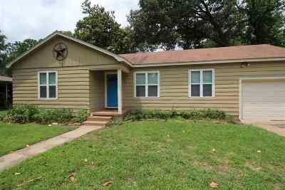 Longview TX Single Family Home For Sale: $99,900