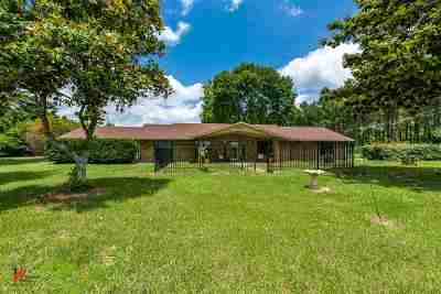Waskom Single Family Home For Sale: 3523 Fm 451