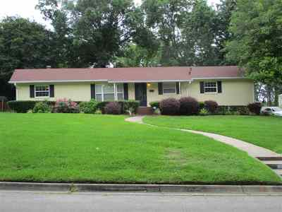 Henderson Single Family Home For Sale: 407 Shawnee Trail