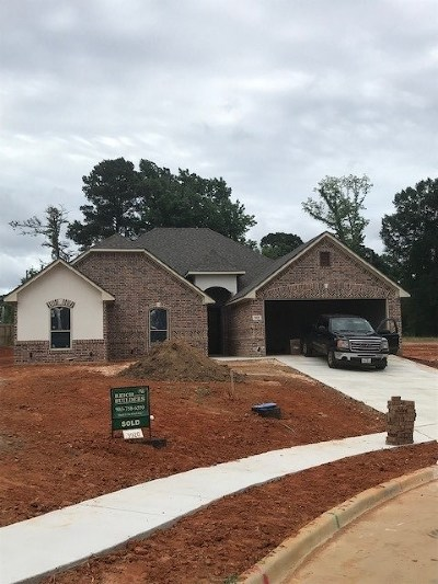 Longview, Carthage, Hallsville, Kilgore, Henderson, Tatum, Beckville, Gary, Elysian Fields, Diana, Ore City, Harleton, Gilmer, Gladewater, Sabine, Daingerfield Single Family Home Active, Option Period: 3920 Gable Crest