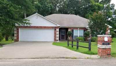 Gladewater TX Single Family Home Active, Cont Upon Loan Ap: $163,500