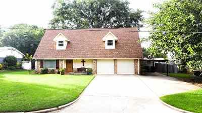 Longview Single Family Home For Sale: 1825 Blueridge