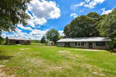 Gilmer Single Family Home Active, Option Period: 1471 Holly Rd