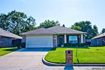 Longview TX Single Family Home For Sale: $189,900
