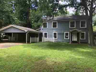 Marshall Single Family Home For Sale: 505 W Crockett St.