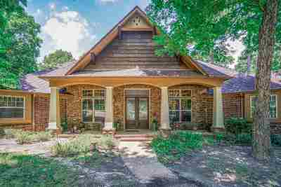 Gregg County Single Family Home For Sale: 3841 Castle Ridge Dr.