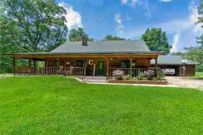 Hallsville Single Family Home For Sale: 726 Mt Pleasant Cutoff