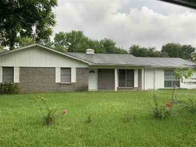 Marshall TX Single Family Home For Sale: $135,000