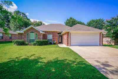 Hallsville Single Family Home Active, Option Period: 111 Canvasback Ln