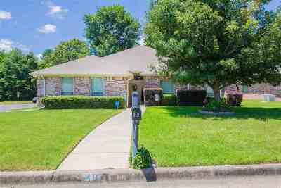 Hallsville Single Family Home Active, Option Period: 112 Canvasback Ln
