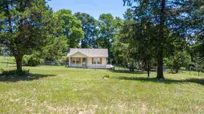 Hallsville Single Family Home For Sale: 499 Hunt Cutoff