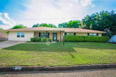Gladewater TX Single Family Home For Sale: $185,500