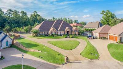 Longview Single Family Home For Sale: 4021 Water View Drive