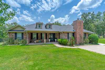 Longview Single Family Home For Sale: 782 Hickory Hill Rd.