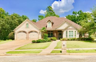 Longview Single Family Home For Sale: 3000 Bull Run