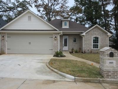 Hallsville Single Family Home For Sale: 103 Letterman Ln