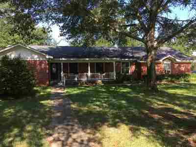 Carthage Single Family Home For Sale: 1596 Fm 10